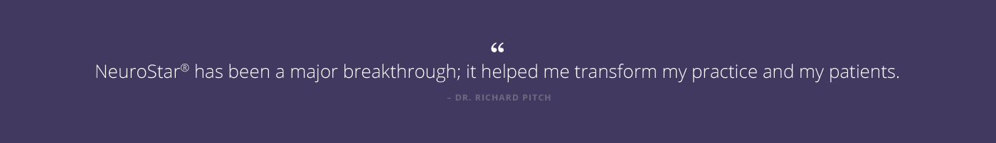 Dr Richard Pitch Testimonial